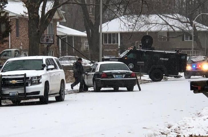 Police Arrest Wanted Felon After Lengthy Standoff In West