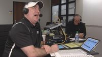 LSU radio crew adapts to road games at home
