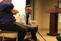Story image: Survivor of Pulse nightclub shooting speaks in Columbia