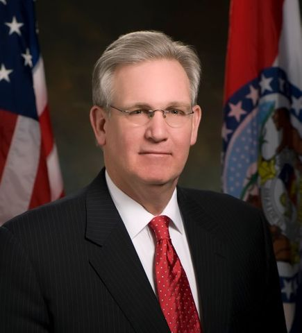 Governor Nixon's Salary Ranks 25th in the Nation