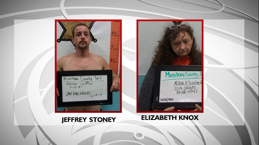 Deputies arrest two people, one of them naked, in drug bust