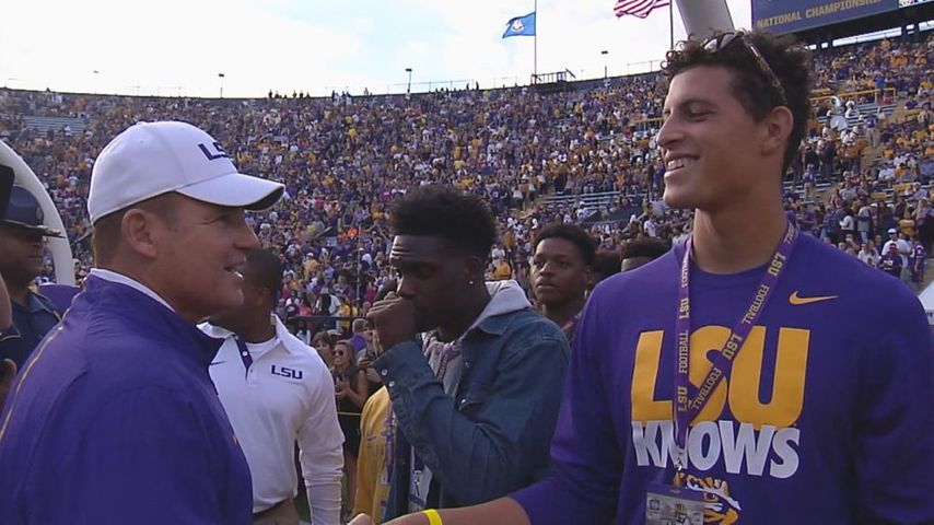 Flipping Feleipe And More Chris Price Talks Lsu Recruiting With Shea Dixon #lsu holds on to the no. wbrz com
