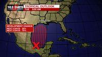 Triple digit heat, Tracking tropical showers late week