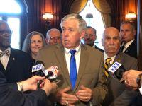 Missouri governor appoints 2 Democratic senators to new jobs