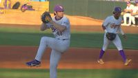 LSU baseball strong in mid-week win over ULM