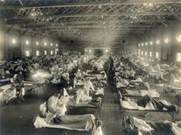 Story image: Similar behaviors influenced the 1918 pandemic and now COVID-19 in Missouri