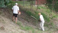 Man's DIY canal-cleaning project continues with help Thursday