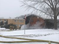 Story image: UPDATE: Unattended cooking caused fire at East Broadway Apartments
