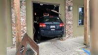 Woman accidentally hits gas pedal, drives car through front door of pizzeria
