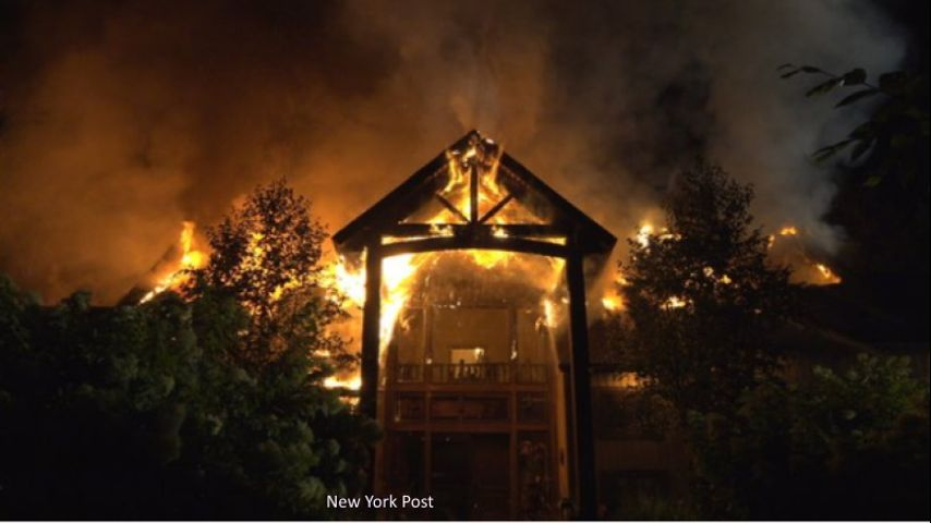 Rachael Ray and family escape massive house fireRachael Ray House Fire Today
