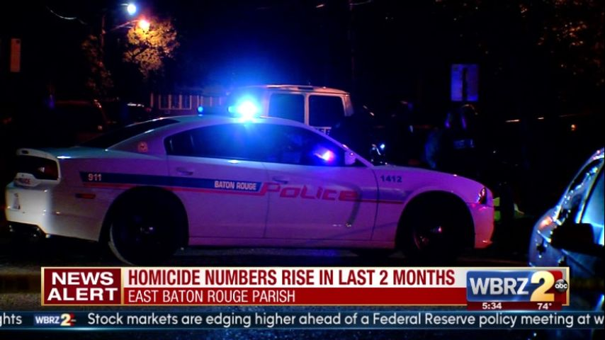 Homicides on the rise in East Baton Rouge Parish