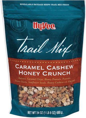 Hy-Vee Caramel Cashew Honey Crunch Trail Mix