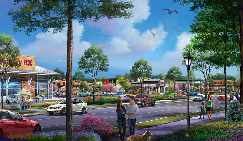 Photo rendering courtesy of Westbury Village