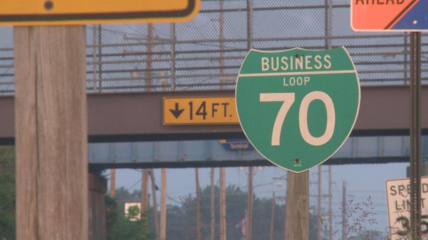 Section of Business Loop 70 to close Monday night