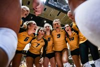 Story image: Mizzou volleyball overpowers Tennessee