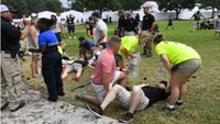 Lightning strike at Tour Championship causes fan injuries