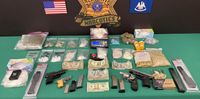 Deputies seize trove of illegal drugs, guns from alleged dealer
