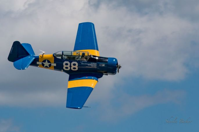The T-6 Reno Racing Plane