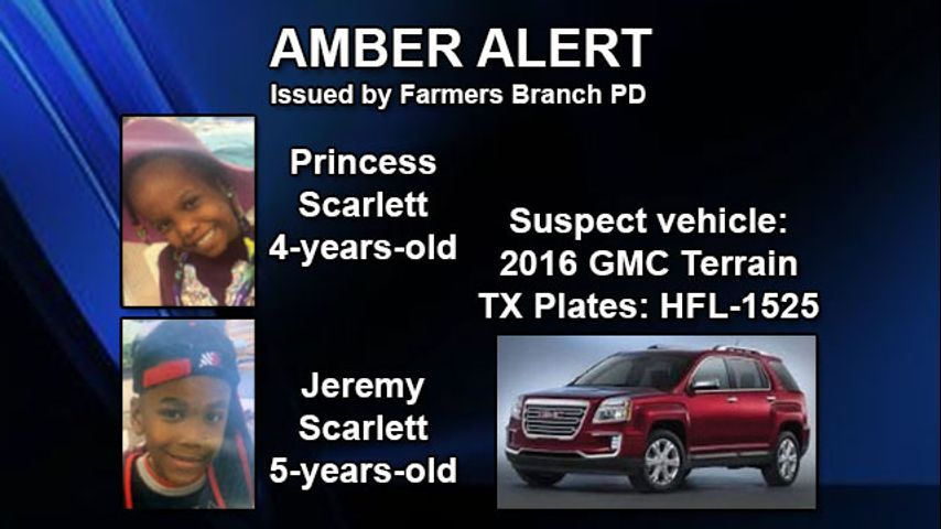 Amber Alert Canceled For Two Children Abducted Near Dallas