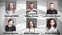 Story image: Six arrested in Boone County drug bust