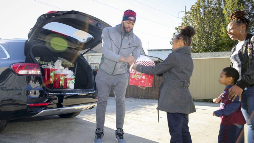Anthony Davis Car Giveaway
