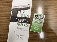 Story image: New campaign teams up with gun dealers to prevent suicides