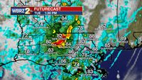 Storms and Heavy Rain Through the Day