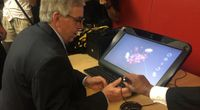 Story image: Governor Parson visits MU to discuss the focus of his administration