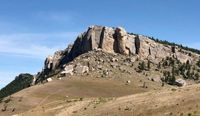 Woman dies after falling 200 feet from cliff in Wyoming