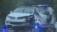Story image: One person sent to hospital after car crash on Rock Quarry Road