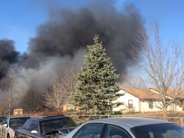 Multiple units reported to the fire.
