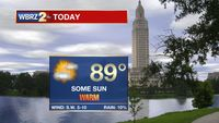 Record warmth possible today, eyes on a weekend storm