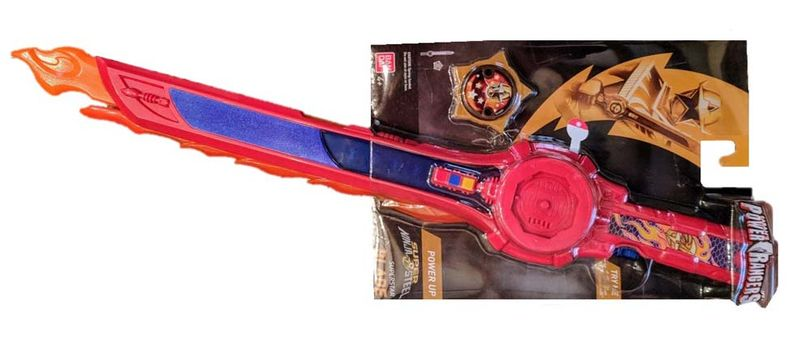 "W.A.T.C.H. says young children are encouraged to ""power up"" with this ""Super Ninja Steel"" spring-loaded plastic blade, with the potential to cause facial and other impact injuries."