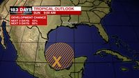 Monitoring the SW Gulf for tropical development