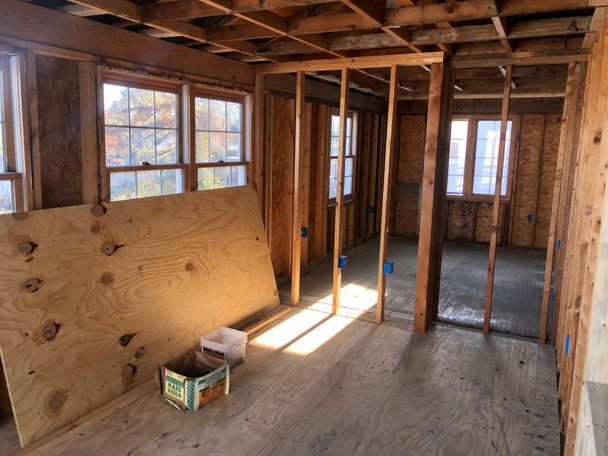 The organization will finish the home in the next several months, according to Susan Cook-Williams, executive director.
