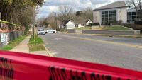 Person injured in shooting sought help at local library