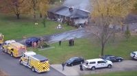 Story image: Fire crews respond to structure fire in Boone County