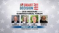 FRIDAY: Missouri gubernatorial forum to air on KOMU 8
