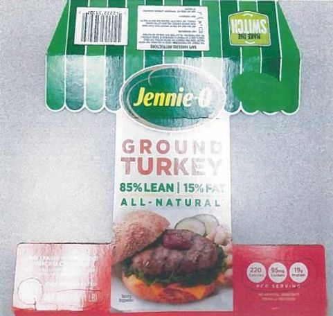 Jennie-O GROUND TURKEY 85% LEAN | 15% FAT