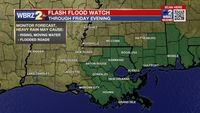 Thursday AM Forecast: Isolated flooding risk continues