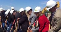 Story image: Aurora Organic Dairy breaks ground, some voice opposition