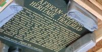 Story image: African American Heritage Trail markers to be unveiled Wednesday night