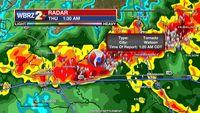 EF0 tornado touches down near Watson Thursday morning