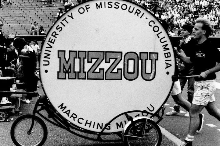 Mizzou game, August 1989