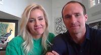 WATCH: Drew Brees appears on 'Ellen' to talk virus's effect on Louisiana