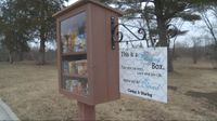 Story image: LOCAL LOOKOUT: Two blessing boxes unveiled on Monday