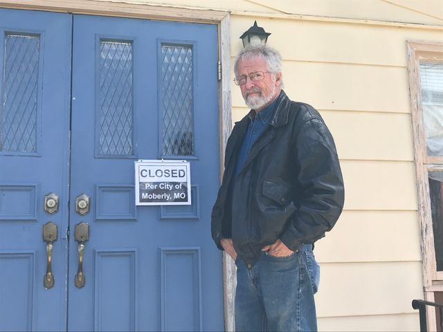 Shelter operator Ross Prevo closed the HOPE