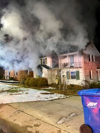 Victim transported to hospital after Jefferson City house fire