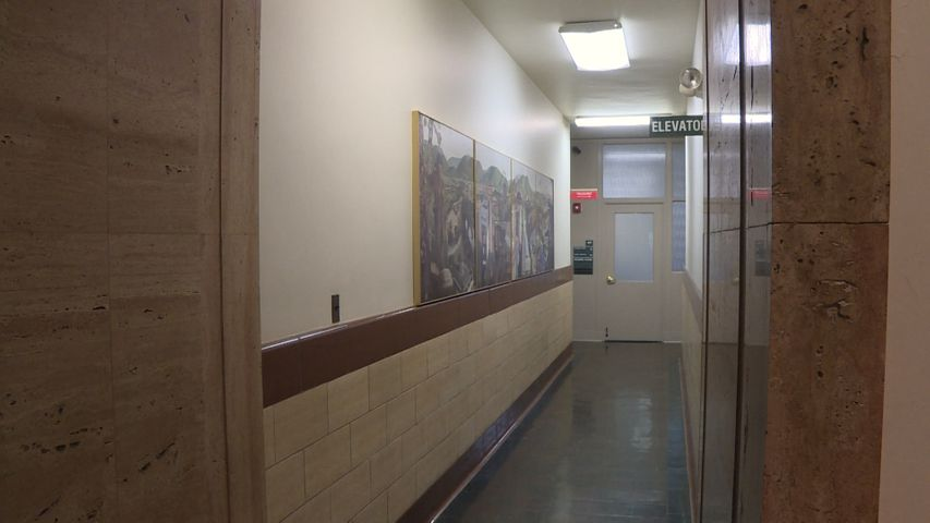 Narrow hallways in the Callaway County courthouse are one of many issues that will be addressed by Proposition 1 and Proposition 2.