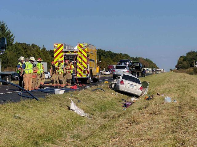 Fatal car crash on I-70